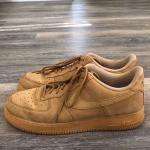 Nike Air Force One (light Brown)